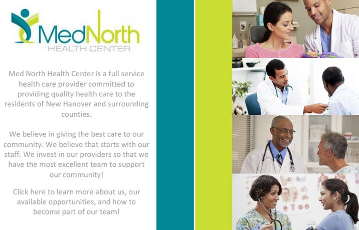 mednorth health center career opportunities