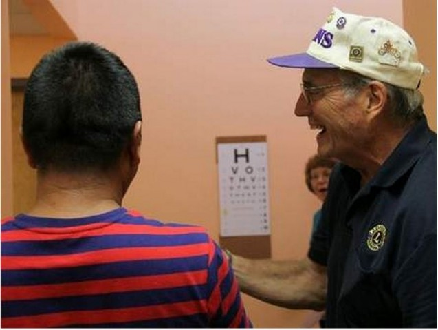 Lion's Club conducts screenings at Med North Health Center
