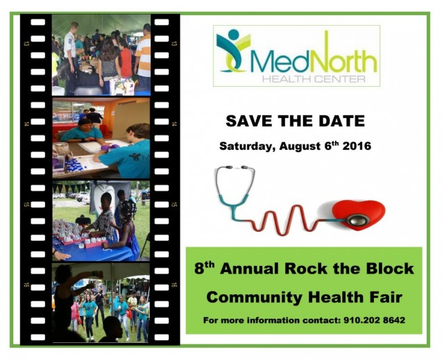 Save the Date for Med North's 2016 Rock-The-Block!