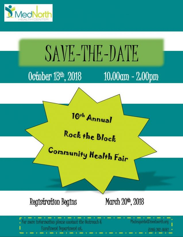 Save The Date! Rock The Block 2018