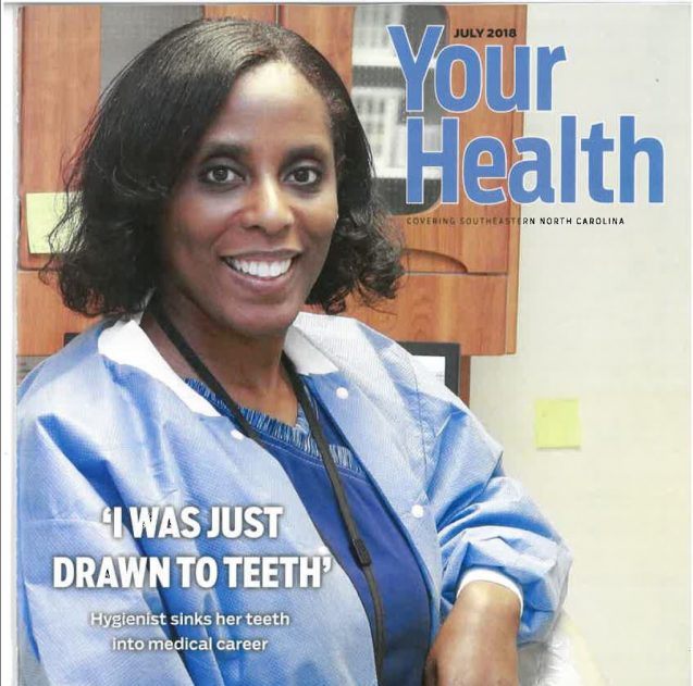 Anecia McCoy: Sinking her teeth into a medical career