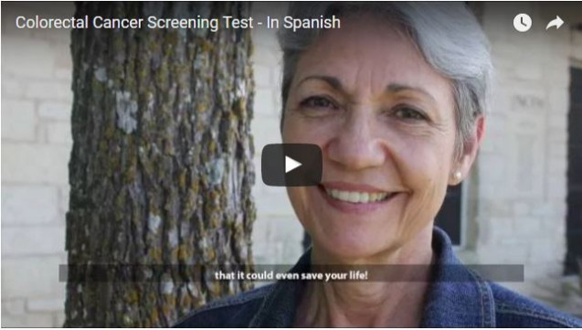 Colorectal Cancer Screening Test (Spanish)