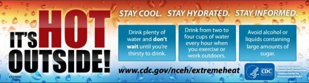 MedNorth Health Center – CDC Extreme Heat and Your Health