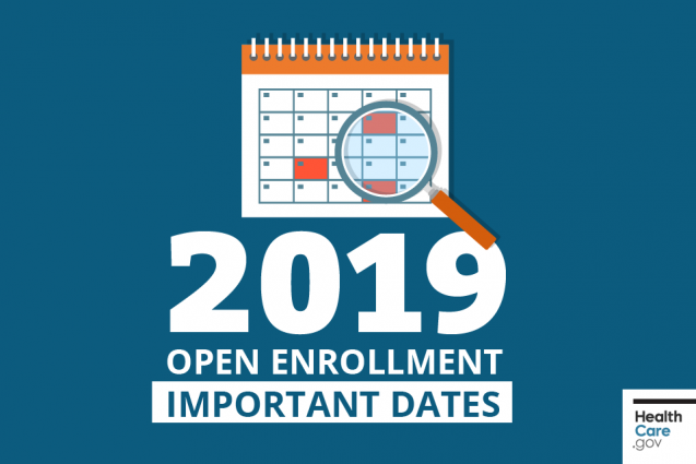 Get Ready for Open Enrollment for the 2019 Health Insurance Marketplace