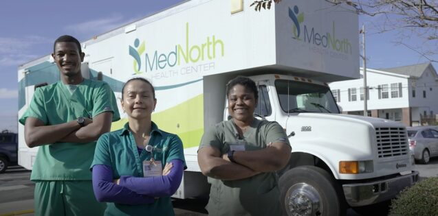 MedNorth Health Center partners with Mission Mobile Medical to expand services with new medical mobile unit.